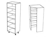 Pantry, Multipurpose and Corner Walk In Pantry Units