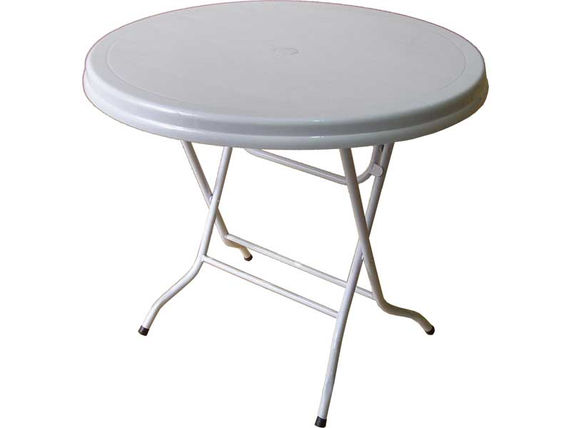 Plastic Folding Top Tables - Le Cafe