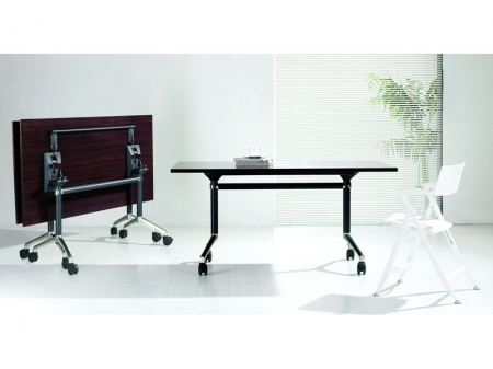 Fold and Roll Mobile Table